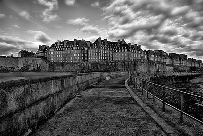 Photograph - Saint Malo, France by Hugh Smith