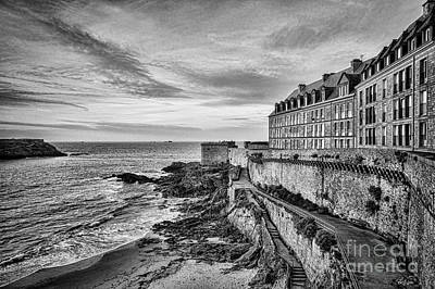 Photograph - Saint-malo In Evening by Colin and Linda McKie
