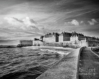 Photograph - Saint-malo Pier And Town by Colin and Linda McKie