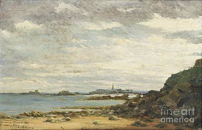 1881 Painting - Saint-malo Seen From Dinard by Celestial Images