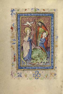 Cruciform Painting - Saint Margaret by Celestial Images