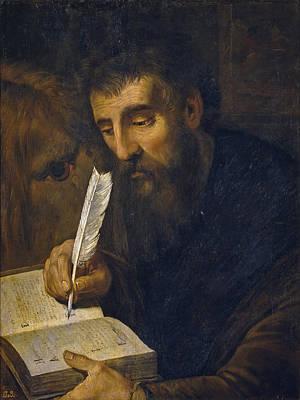 Artus Wolffort Painting - Saint Mark by Artus Wolffort