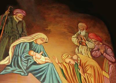 Photograph - Saint Mary Church Nativity by Munir Alawi