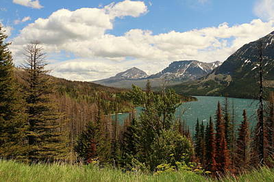 Photograph - Saint Mary Lake by Christiane Schulze Art And Photography