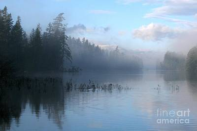 Photograph - Saint Mary Lake by Frank Townsley