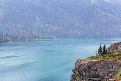 Photograph - Saint Mary Lake by Penny Meyers