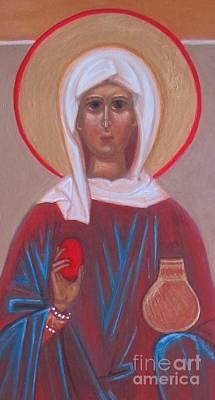 Saint Mary Magdalene  Art Print by Seija Talolahti