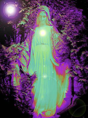 Queen Mary Mixed Media - Saint Mary No. 02 by Ramon Labusch