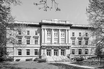 Terre Haute Indiana Photograph - Saint Mary Of The Woods Guerin Hall by University Icons