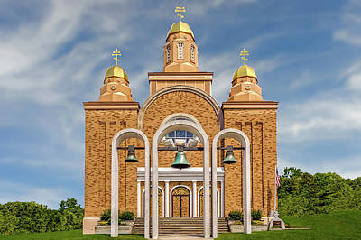 Photograph - Saint Marys Carpatho-russian Orthodox Church  -  1937saintmarysorthodox172411 by Frank J Benz