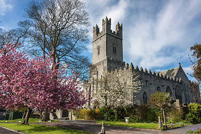 Photograph - Saint Mary's Cathedral In Spring by Pierre Leclerc Photography