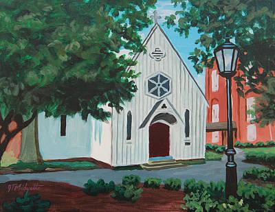 Saint Mary's Chapel Art Print by Tommy Midyette