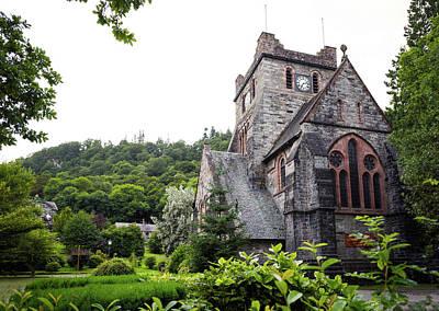 Photograph - Saint Marys Church by Svetlana Sewell
