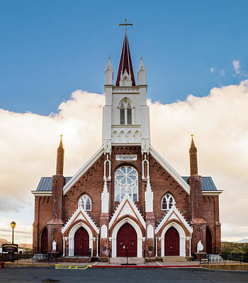 Photograph - Saint Mary's In The Mountains Catholic Church by TL Mair