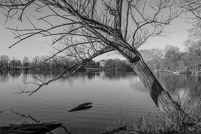 Photograph - Saint Marys Lake University Of Notre Dame  by John McGraw