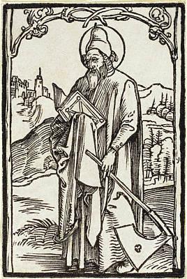 Drawing - Saint Matthias by Albrecht Durer