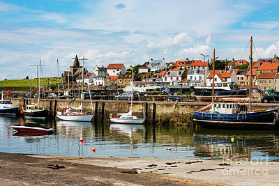 Photograph - Saint Monans Harbour by MaryJane Armstrong
