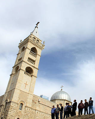 Saint Nicolas Church In Beit Jala Original by Munir Alawi