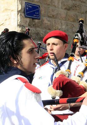 Saint Nicolas Feast Day Original by Munir Alawi