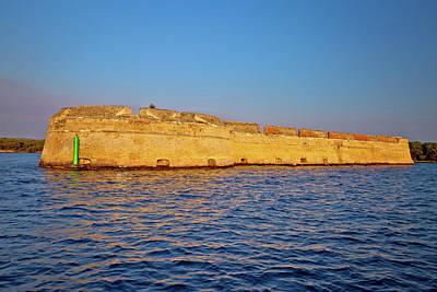 Photograph - Saint Nikola Fortres In Sibenik Bay Entrance by Brch Photography