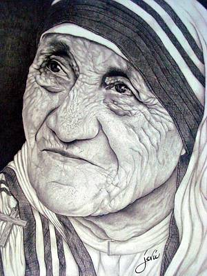 Mother Teresa Saint Of Calcutta  Original