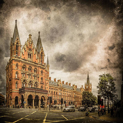 Photograph - London, England - Saint Pancras Station by Mark Forte