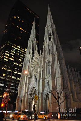 Photograph - Saint Patrick's Cathedral by Jacqueline M Lewis