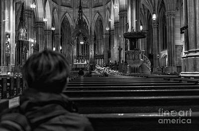 Photograph - Saint Patrick's Cathedral by Jim Orr