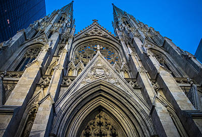 New York City Photograph - Saint Patrick's Cathedral by Michael Santos