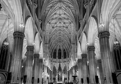 Photograph - Saint Patrick's - Nyc by Timothy Harris