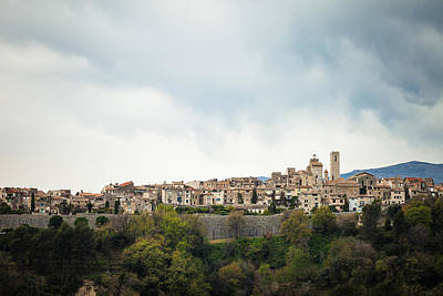 Photograph - Saint Paul De Vence, Provence, France by Alfio Finocchiaro