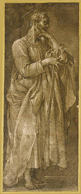 Drawing - Saint Paul by Giovanni Baglione