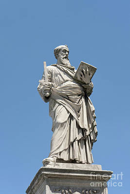 Photograph - Saint Paul Statue by Fabrizio Ruggeri