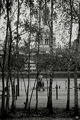 Photograph - Saint Pauls And Thames by John Meader
