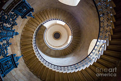 Spiral Staircase Photograph - Saint Paul's Cathedral Stairs by Inge Johnsson