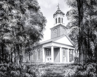Photograph - Saint Paul's Church - Historic Augusta by Mark E Tisdale