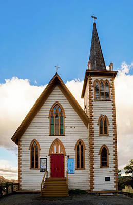 Photograph - Saint Paul's Episcopal Church Verginia City Nevada by TL Mair