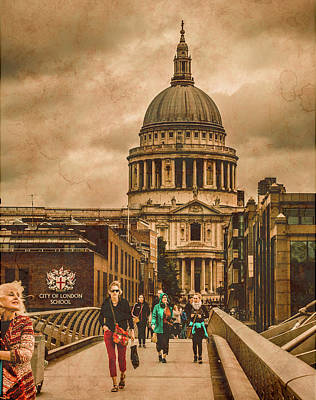 Photograph - London, England - Saint Paul's In The City by Mark Forte