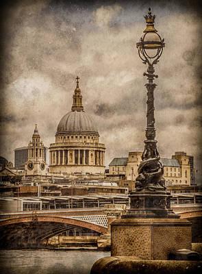 Photograph - London, England - Saint Paul's by Mark Forte
