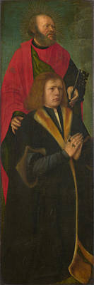 Digital Art - Saint Peter And A Donor by Followers of Gerard David