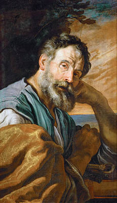Painting - Saint Peter Repenting by Domenico Fetti