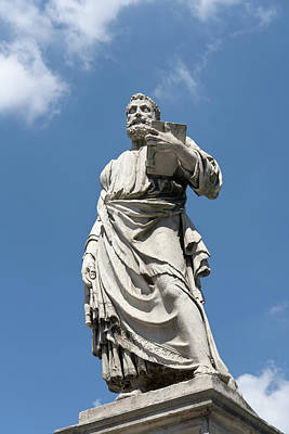 Photograph - Saint Peter Statue II by Fabrizio Ruggeri