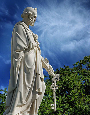 Photograph - Saint Peter With Keys To Heaven by Peter Piatt