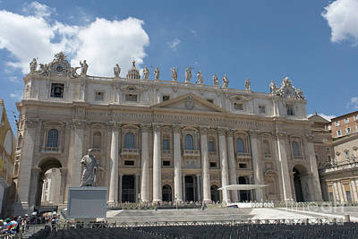 Photograph - Saint Peter's Basilica by Fabrizio Ruggeri