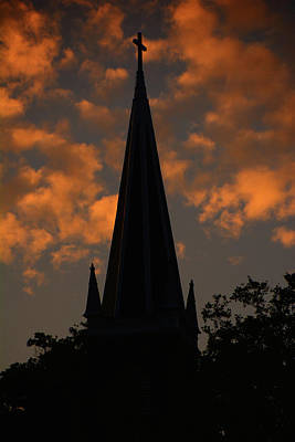 Photograph - Saint Peter's Church At Sunset by Raymond Salani III