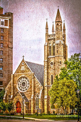 Architecture Photograph - Saint Peter's Church by Claudia M Photography