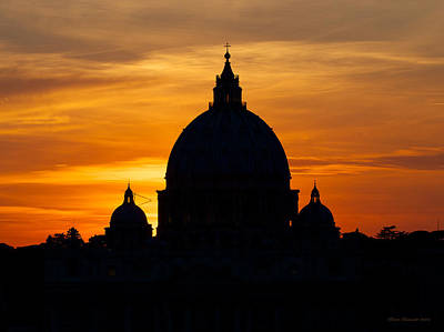 Saint Peters Sunset Art Print
