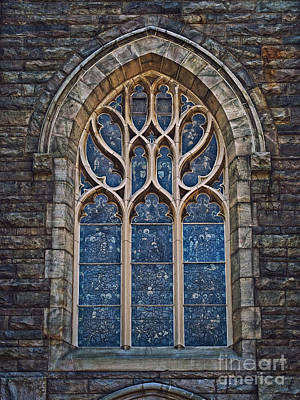 Photograph - Saint Peter's Window by Mark Miller
