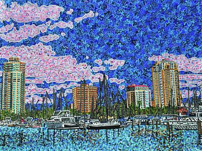 Painting - Saint Petersburg, Florida by Micah Mullen