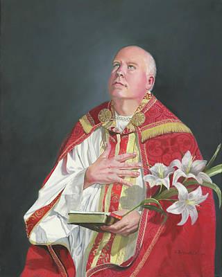 St Cecilia Painting - Saint Phillip Neri by Cecilia Brendel